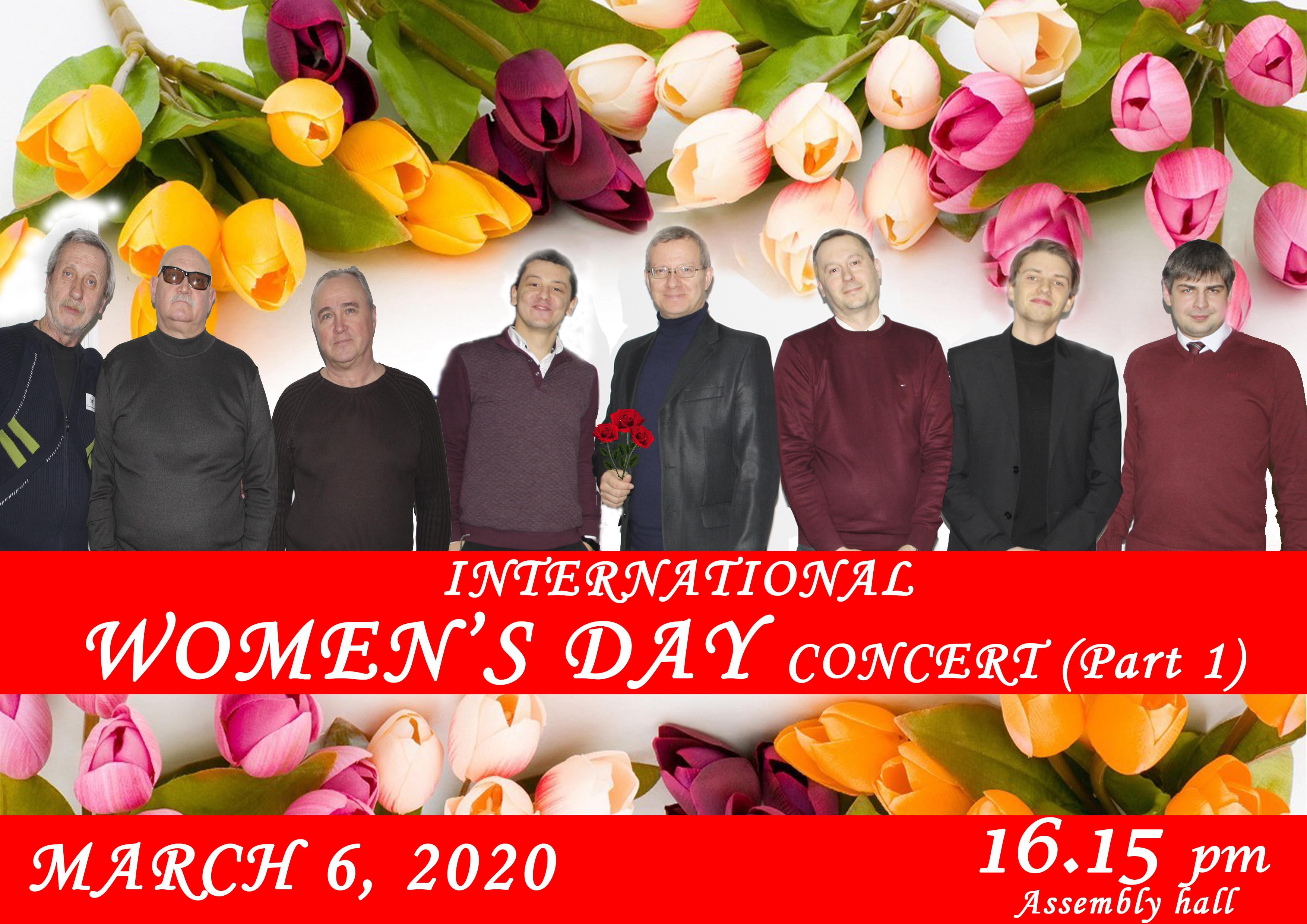 International Women's day concert (Part 1)